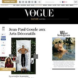 Jean-Paul Goude aux Arts Décoratifs