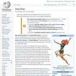 Jean Grey - Wikipedia