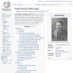 Jean Guiraud (1866-1953)