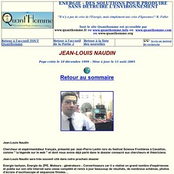 JEAN-LOUIS NAUDIN