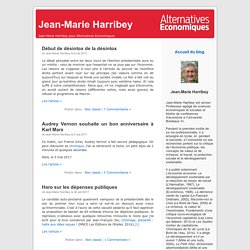 Jean-Marie Harribey