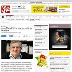 Jean-Marie Pelt, le père tranquille de l'écologie - Écologie