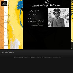 Site officiel américain de Jean-Michel Basquiat