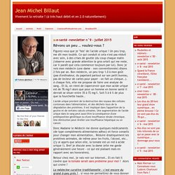 Blog Jean Michel Billaut