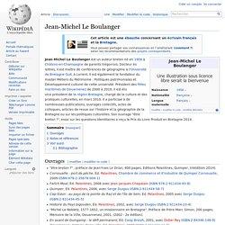 Jean-Michel Le Boulanger