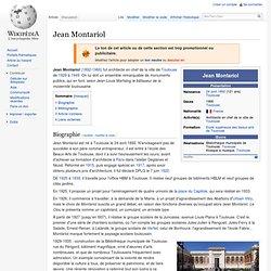 Jean Montariol