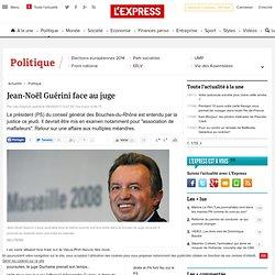 Jean-Noël Guérini face au juge