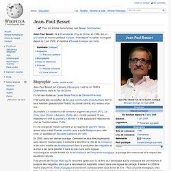 Jean-Paul Besset