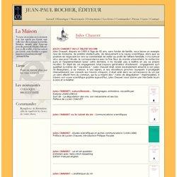 Jean-Paul ROCHER, Editeur