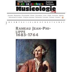 Rameau Jean-Philippe (1683-1764) - Compositeur Baroque
