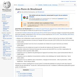 Jean-Pierre de Mondenard