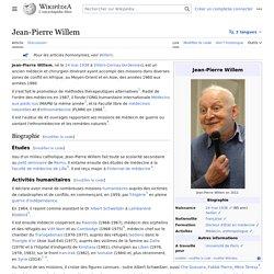 Jean-Pierre Willem