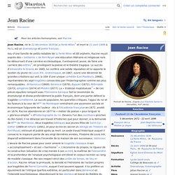 Jean Racine
