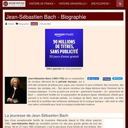 Jean-Sébastien Bach (1685-1750) - histoire-pour-tous.fr