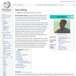 Jean Seberg - 1938-1979