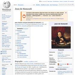 Jean de Sismondi