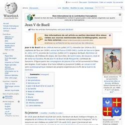Jean V de Bueil
