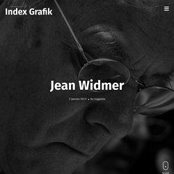Jean Widmer