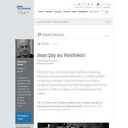 Jean Zay au Panthéon