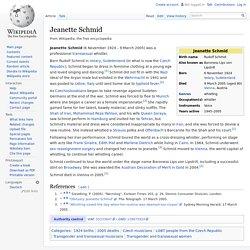 Jeanette Schmid
