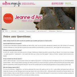 Jeanne d'Arc > Accueil