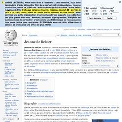 Jeanne de Belcier