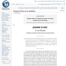 Jeanne d'Arc et sa mission