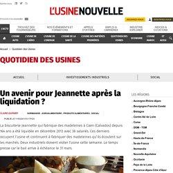 Un avenir pour Jeannette après la liquidation ? - Quotidien des Usines
