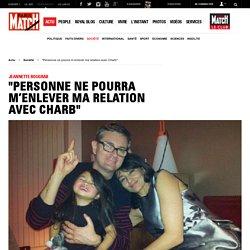 """Jeannette Bougrab - """"Personne ne pourra m'enlever ma relation avec Charb"""""""