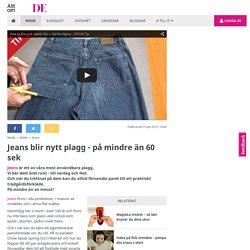 Jeans blir nytt plagg - på mindre än 60 sek