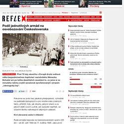 Podíl jednotlivých armád na osvobozování Československa