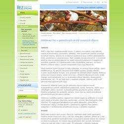 Udržovací řez u jednotlivých druhů ovocných dřevin