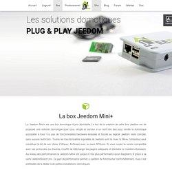 Jeedom - Les box