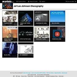 Jef Lee Johnson : Albums