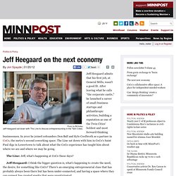 Jeff Heegaard on the next economy
