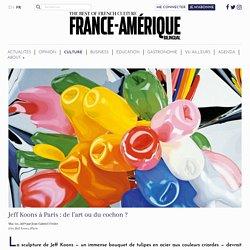 Jeff Koons à Paris : de l'art ou du cochon ?