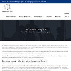 Jefferson Divorce Lawyers