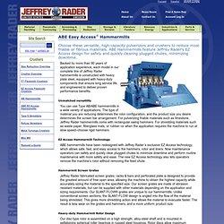 Jeffrey Rader ABE Easy Access® Hammermills