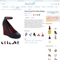 There Could Vino Other Wedge | Mod Retro Vintage Wedges