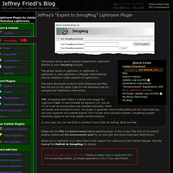 JF - Export to SmugMug