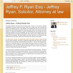 Jeffrey Ryan – Putting People First