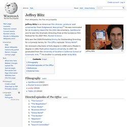 Jeffrey Blitz