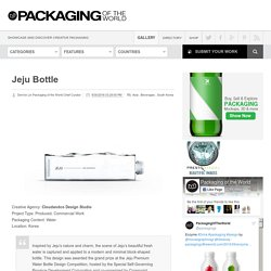 Jeju Bottle on Packaging of the World
