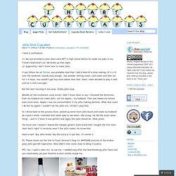 Jello Shot Cupcakes « I♥cuppycakes!