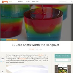 10 Jello Shots Worth the Hangover
