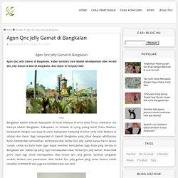 Agen Qnc Jelly Gamat di Bangkalan - Qnc Jelly Gamat