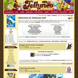 Jellyneo.net | Neopets Help, Neopets Guides, Neopets Avatar Solutions, and Neopets News!
