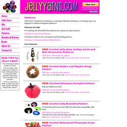 JellyYarns.com - Crochet and Knitting Patterns - Including Our FREE Pattern!
