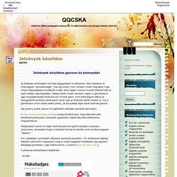 Jelvények készítése - QQCSKA
