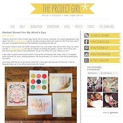 Jenallyson - The Project Girl - Fun Easy Craft Projects including Home Improvement and Decorating - For Women and Moms